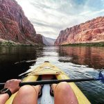 kayaking in horseshoe bend grand canyon